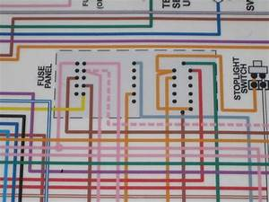 Reading Wiring Diagram For  U0026 39 68 Fuse Panel