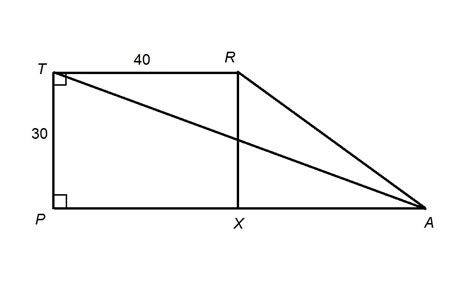 Diagram Of Trapezoid by How To Find The Length Of The Diagonal Of A Trapezoid