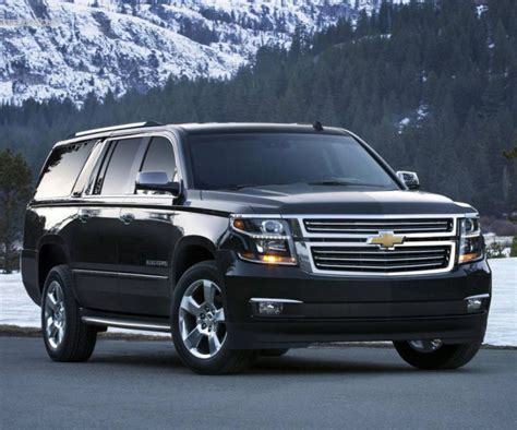 chevy suburban release date specs  redesign