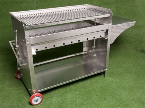 edelstahl grill holzkohle deluxe edelstahlgrill xl holzkohle edelstahl grill ebay