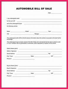 bill of sale trade template bio letter format With bill of sale trade template