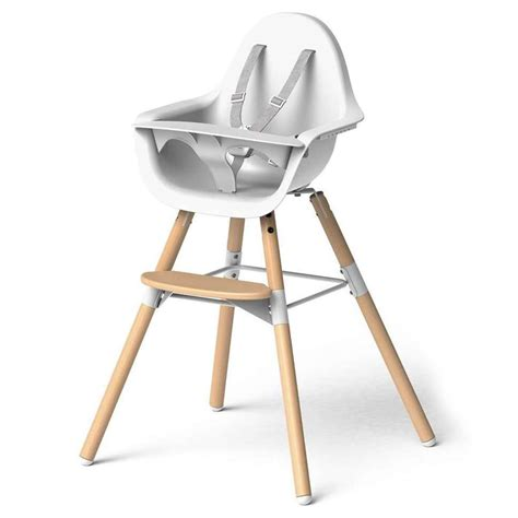 Chaise Childwood by Childwood Chaise Haute Evolu 2 Pieds Bois Blanc Chaise