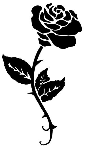 Rose Tattoo PNG Transparent Free Images | PNG Only