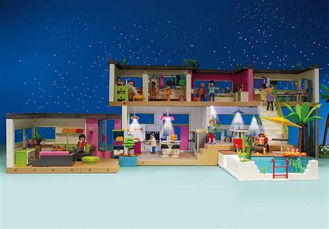 moderne luxusvilla  playmobil deutschland
