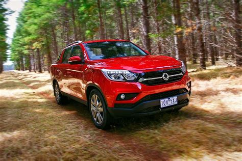 ssangyong musso dual cab ute  review