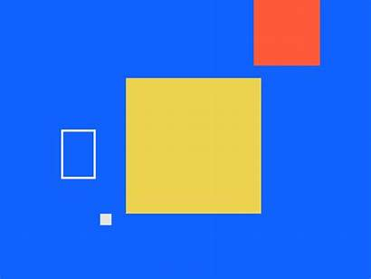 Square Animation Dribbble Vector Shapes Shape Aesthetic