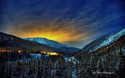 Alaska Winter Nights Wallpapers 1920 1200 1280