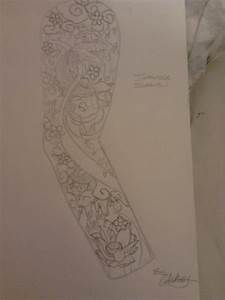 Japanese tattoo sleeve design by whatey88 on deviantart for Designing a sleeve tattoo template