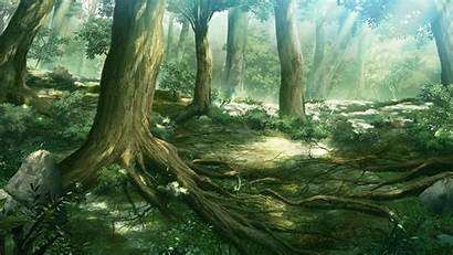 Forest Anime Backgrounds Scenery Background Cave