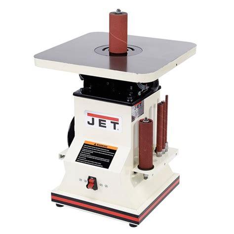 jet benchtop oscillating spindle sander spindle sanders