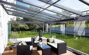Terrassenüberdachung Aus Glas : terrassen berdachung terrassendach ~ Whattoseeinmadrid.com Haus und Dekorationen