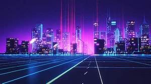 80s Style Retrowave Animation-00 – Fubiz Media
