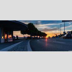 So Lässt Es Sich Warten Foto & Bild Sonnenuntergang