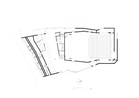 bureau culturel 钁e espace culturel victor jara l escaut architectures
