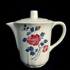 pots a epices anciens cafeti 232 re verseuse rosador badonviller feuillage bleu gris coffee pot