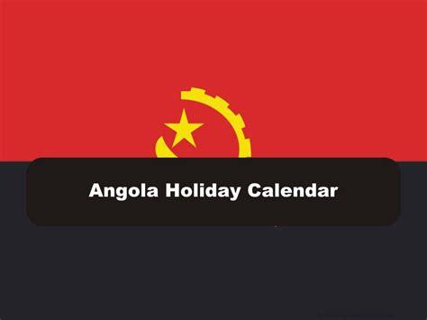 angola holiday calendar