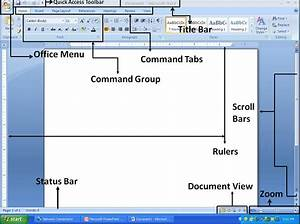 Microsoft Office  Microsoft Word 2007 Environment