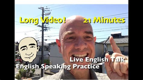 Live Talk With Mark Kulek  Long Video  English Speaking And Listening Practice  Esl Youtube