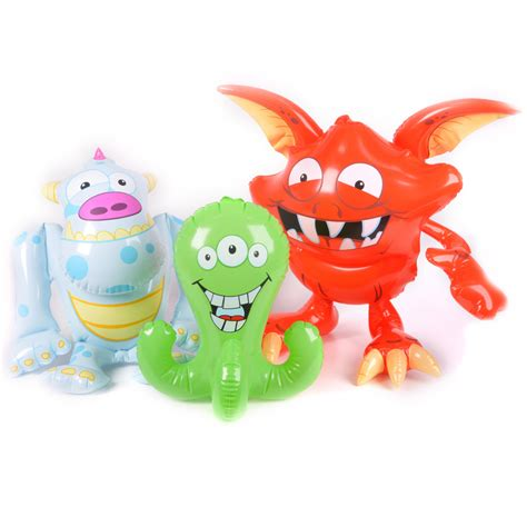 inflatable monsters blow  novelty toy halloween