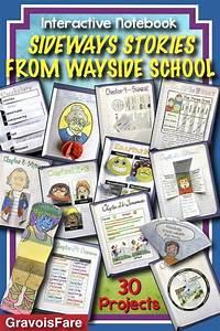 Sideways Stories From Wayside School Interactive Notebook