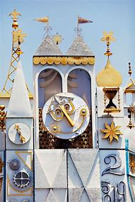 Disneyland Small World Clock