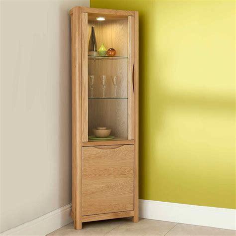 narrow corner bathroom cabinet furniture dining room corner mahogany china cabinet of and