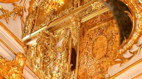 la chambre d ambre russie le palais catherine et la chambre d 39 ambre