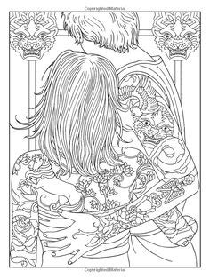 Body Art: Tattoo Designs (Dover Design Coloring Books): Marty Noble | Body Art Tattoo Coloring
