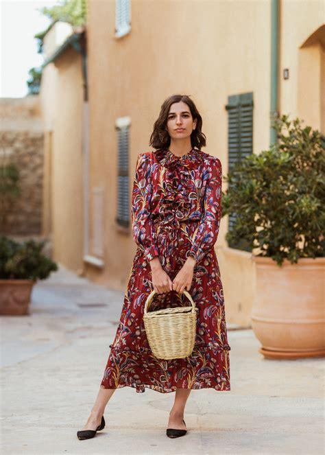 paisley maxi dress     wardrobe aria
