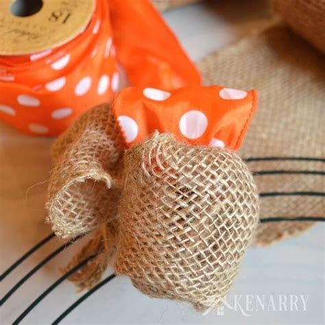 how to make a burlap wreath with two colors how to make a burlap wreath with accent ribbon