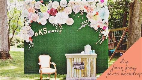 diy photo booth backdrop here s how to construct a great