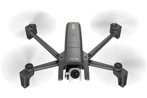parrot introduces   portable  foldable drone   parrot anafi