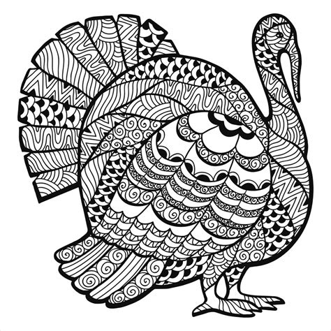 thanksgiving color pages get this turkey coloring pages for adults 93172