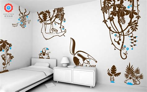 Sloth Animal Wall Decal-baby & Kids Wall Decals E-glue