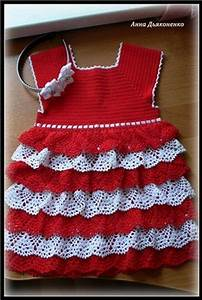 crochet baby dress croche bebe vestidos adorable robe With robe blanche bebe