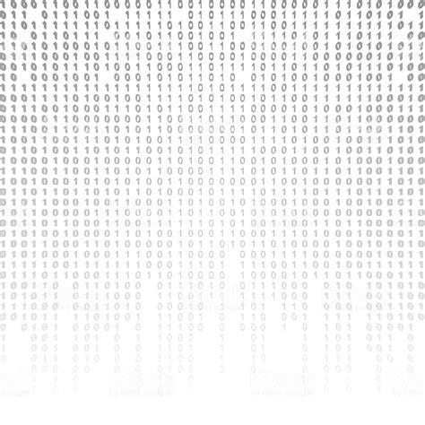 binary code on a white background stock photo more