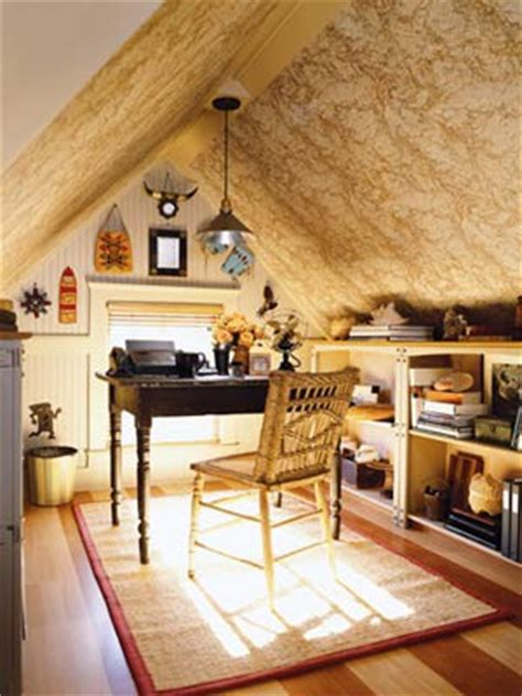 cool attic home office design inspirations digsdigs