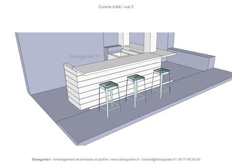 plan cuisine d été cuisine d 39 été slowgarden design terrasses et jardins