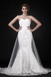 white charming mermaid trumpet sweetheart neckline chapel With mermaid trumpet wedding dresses