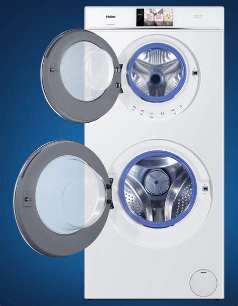waschmaschine und trockner gleichzeitig haier duo waschmaschine mit zwei trommeln kann gleichzeitig waschen und trocknen euronics