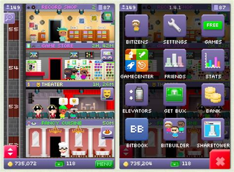 Tiny Tower Floors 2017 by Tiny Towers Hack 2017
