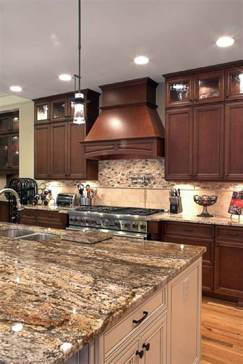 ceiling height cabinetry   dark wood