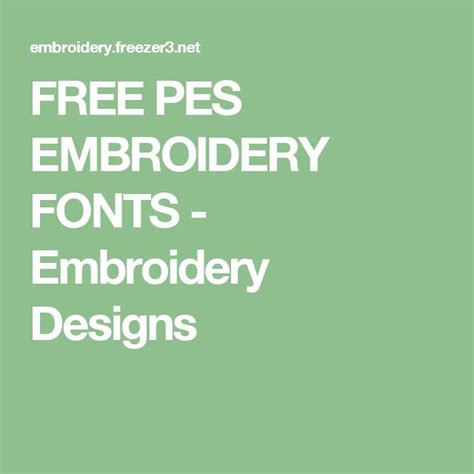 baesta embroidery fonts ideerna pa pinterest typsnitt fran svarta tavlan silhuettcameo och