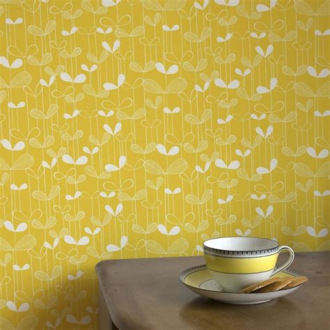 saplings wallpaper yellow wallpaper missprint saplings
