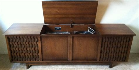 vintage record player cabinet the 1966 philco high fidelity all transistor stereophonic