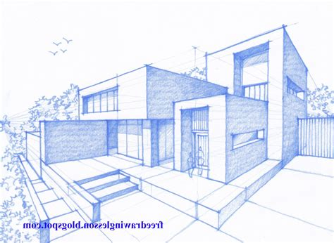 building perspective drawing  getdrawingscom