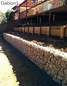 low gabion retaining wall filled with local limestone With lovely amenagement jardin avec pierres 2 mur de pierre muret de pierre exterieur profil jardins