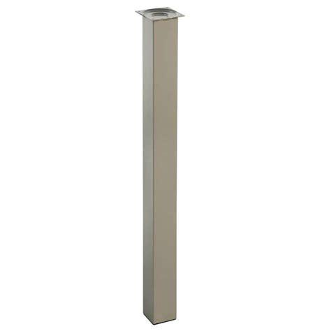 hauteur table de cuisine piétement pour table de cuisine hauteur 110 cm 4 pieds