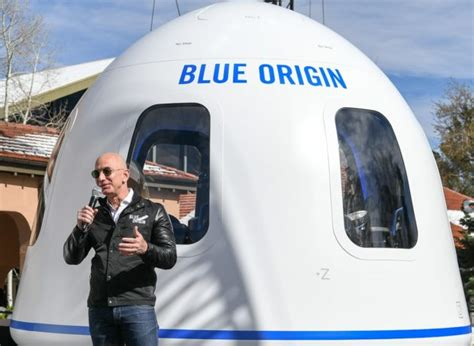 Jeff bezos, founder of blue origin, at new shepard's west texas launch facility before the rocket's maiden voyage in 2015. Will the Blue Origin Flight Make Jeff Bezos an Astronaut? - Orbital Today