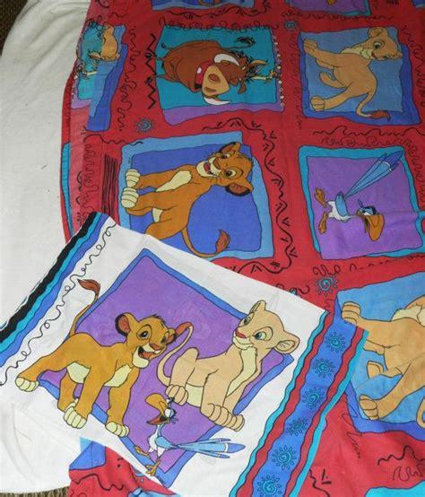 vintage lion king sheet  pillowcase set  dream